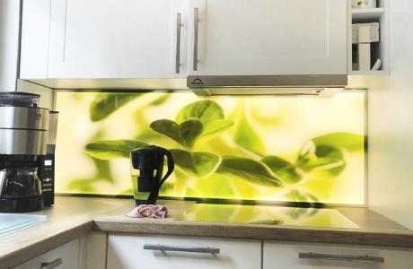 Beispiel einer LED Küchenrückwand_081