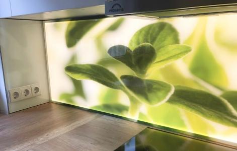 Beispiel einer LED küchenrückwand_082