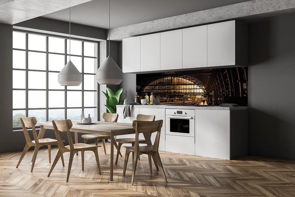 LED hinterleuchtete Küchenrückwände | Küchenrückwand